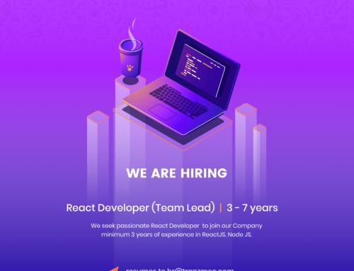 Team Lead / FullStack Developer (React.js Team Lead 3- 7 years )